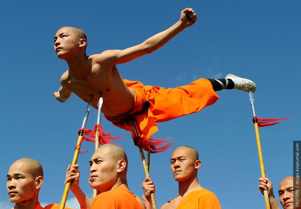 Фото : Шаолинь : Боевые искусства